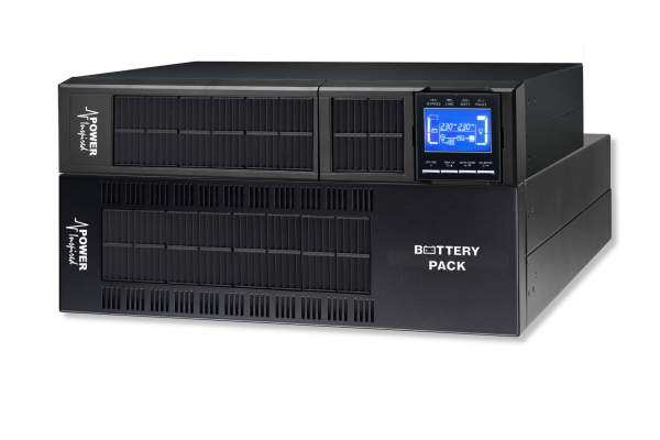6000VA / 5400W VFI Series Online UPS System. Rack/Tower + 1 Cab