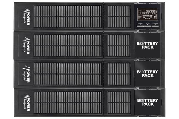 1500VA / 1350W VFI Series Online UPS System. Rack/Tower + 3xBattery Cabs